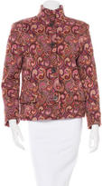 Missoni Wool Printed Jacket