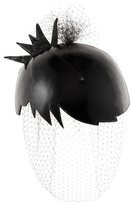 Thom Browne Cropped Pixie leather fascinator
