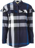 Burberry checked shirt - women - Cotton - 10