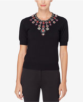Catherine Malandrino Embellished Sweater