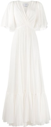 Giambattista Valli Draped Wrap-Style Gown