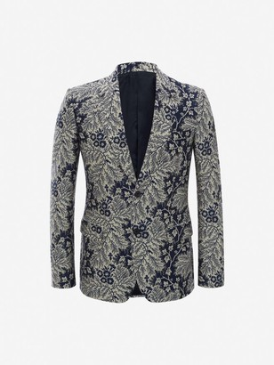 Alexander McQueen Ivy Creeper Jacquard Jacket