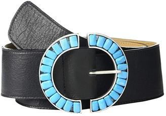 Leather Rock Lorelei Belt (Black) Women's Belts