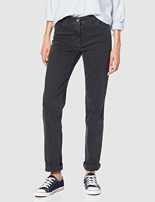 Gerry Weber Women's 92307-67930 Straight Jeans, (Dark Grey Denim 13200)