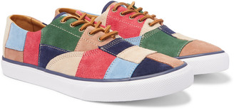 Sperry Cloud Cvo Panelled Suede Sneakers
