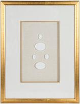 One Kings Lane Vintage Gold Leaf Framed Intaglios