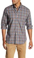 Tailorbyrd Regular Fit Long Sleeve Plaid Dress Shirt