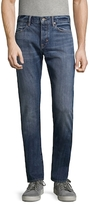 Vince Selvedge Cotton Straight Fit Jeans