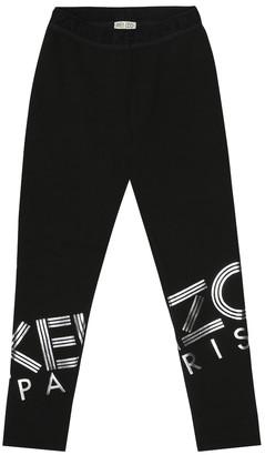 Kenzo Kids Logo leggings