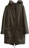 Tommy Hilfiger Khaki Cotton Coat for Women