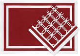 Asstd National Brand Lattice Links Set of 4 Napkins