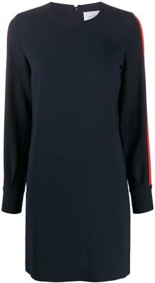 Victoria Victoria Beckham Side Stripe Midi Dress