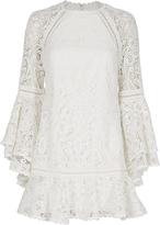 Alexis Veronique Lace Flare Dress