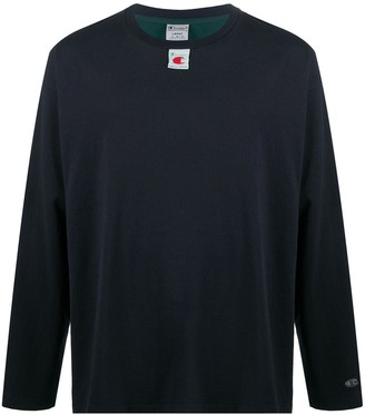 Champion colour-block cotton T-shirt