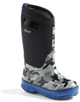 Bogs Boy's 'Classic' Camo Waterproof Boot