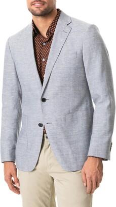 Rodd & Gunn Brightwater Solid Wool & Linen Sport Coat