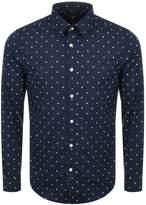 G Star Raw Printed Core Shirt Blue