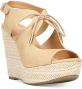 Fergalicious Vicky Platform Wedge Sandals Women's Shoes