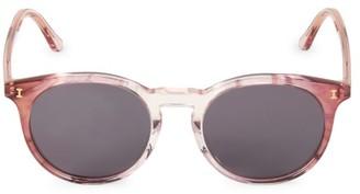 Illesteva Sterling II 52MM Round Sunglasses