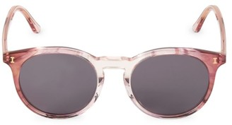 Illesteva Sterling II 52MM Round Sunglasses