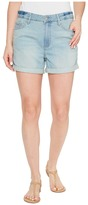 Calvin Klein Jeans Whisper Weight Boyfriend Shorts in Ocean Bleach Women's Shorts