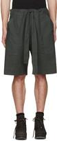 Phoebe English Grey Tie Front Shorts