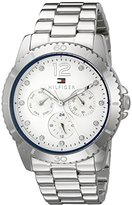 Tommy Hilfiger Women's 1781585 Analog Display Quartz Silver Watch