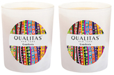 Qualitas Candles Gardenia Candles (6.5 OZ) (Set of 2)