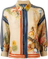 Alberta Ferretti printed silk shirt - women - Silk - 44
