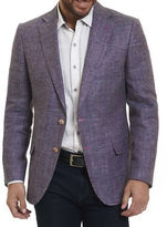 Robert Graham Mélange Two-Button Blazer