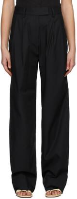 Esse Studios SSENSE Exclusive Black Tailored Trousers