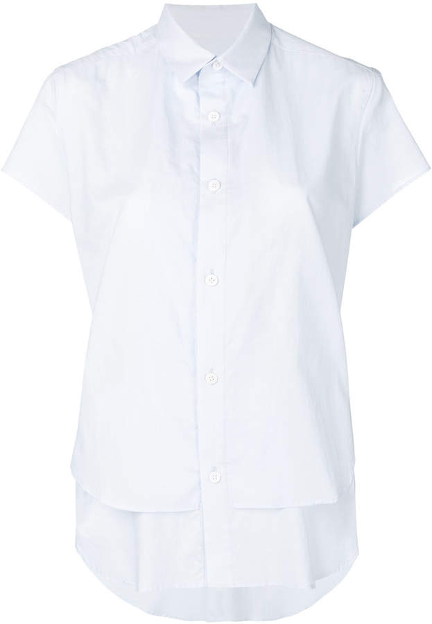 Y's double scoop hem shirt