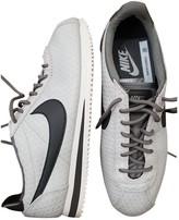 Nike Cortez Grey Leather Trainers
