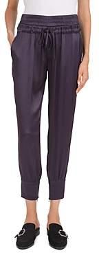 The Kooples Cropped Zip-Hem Jogger Pants