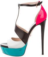Ruthie Davis Studio T-Strap Sandals