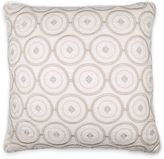 Wamsutta Mills Collection Positano Square Throw Pillow in Ivory/Taupe