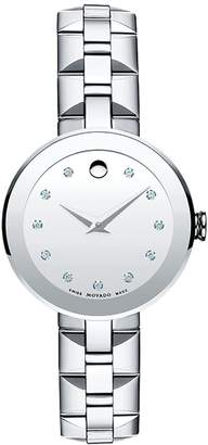 Movado Ladies Sapphire Watch