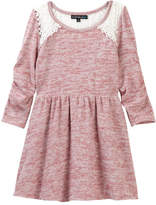 My Michelle mymichelle Lace Yoke Dress (Big Girls)
