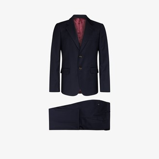 Gucci Two Piece Stretch Wool Suit