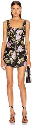 Alice McCall Wild Flowers Mini Dress in Black | FWRD
