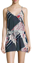 French Connection Samba Avenue Printed Playsuit