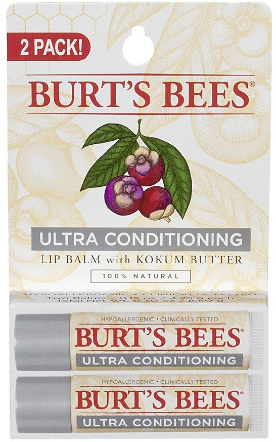 Burt's Bees Lip Balm Ultra Conditioning with Kokum Butter