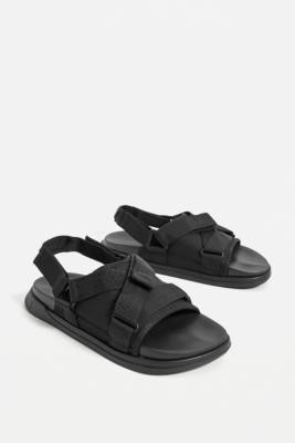 Rider R Next Black Sandals - Black UK 5 at Urban Outfitters