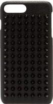 Christian Louboutin - Loubiphone Spike Leather Iphone 7+/8+ Case - Mens - Black