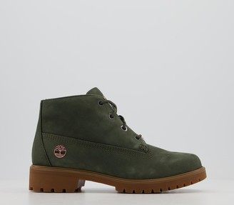 Timberland Slim Nellie Chukka Boots Forest Night Rose Gold