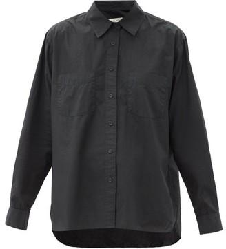 Nili Lotan Kelsey Cotton-poplin Shirt - Black