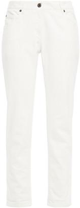 Brunello Cucinelli Cropped Mid-rise Slim-leg Jeans