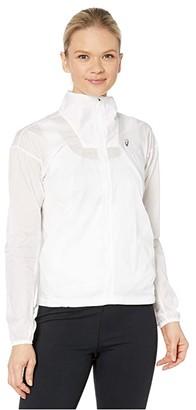 Asics Tokyo Jacket (Brilliant White) Women's Clothing