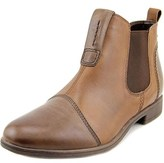 Earth Dorset Women Round Toe Leather Brown Ankle Boot.