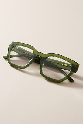 Anthropologie Harley Square Reading Glasses By in Green Size 2.5X